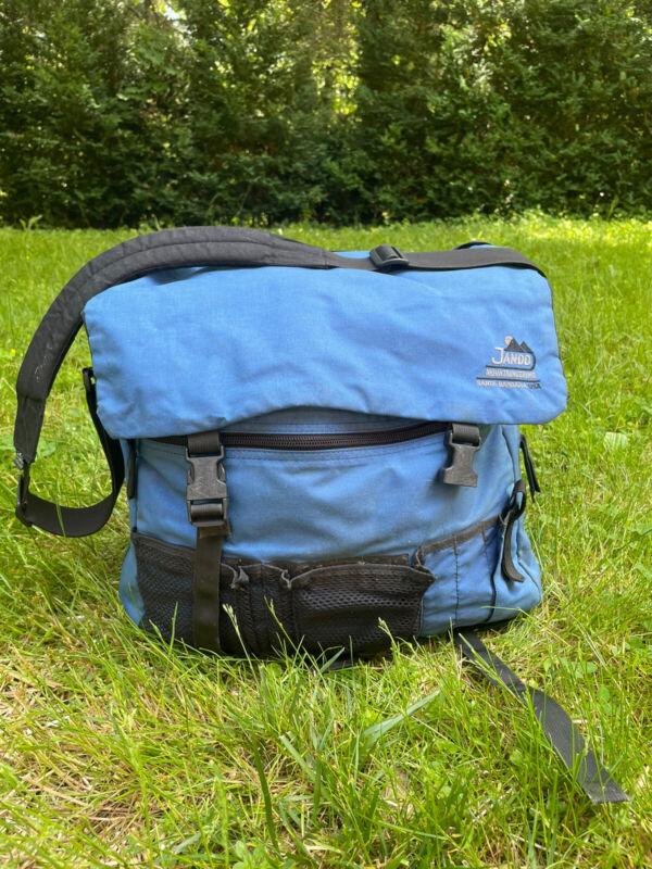 Jandd Mountaineering Backpack Rugged Cargo Bag Santa Barbara Vintage Made In USA