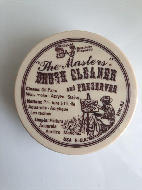Original B&J The Masters Brush Cleaner And Preserver 2.5 Oz #101-BJ