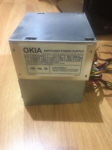 Okia 450w ATX Power Supply w/ SATA & 20