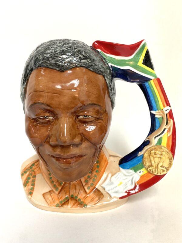 Pascoe & Company Limited Edition Nelson Mandela Character Jug #24/1000