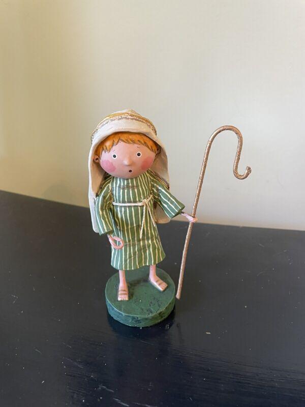 Lori Mitchell Figurine LITTLE SHEPHERD BOY ***BRAND NEW***