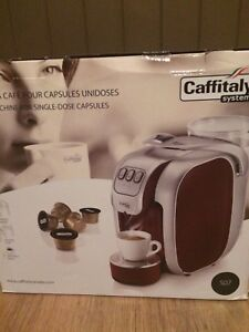 Machine a cafe pour capsule unidose new