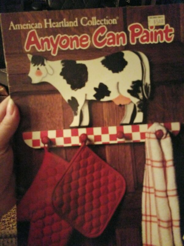 DECORATIVE TOLE PAINTING PATTERN BOOK AMERICAN HEARTLAND COLLECTION ANYONE CAN