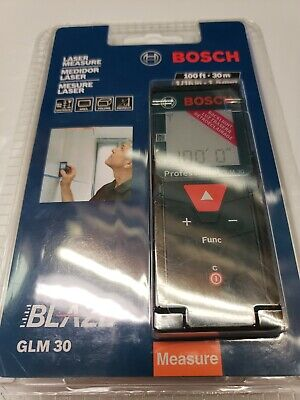 Bosch Glm 30 Laser Distance Measurer New