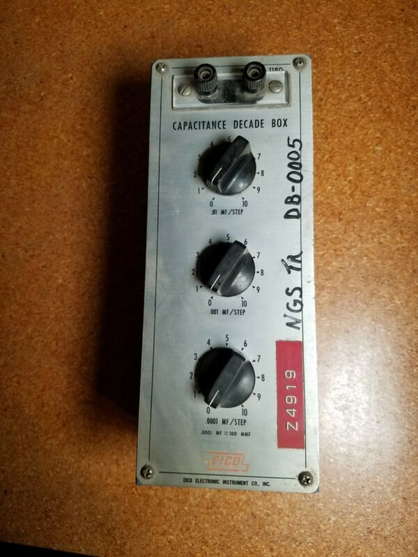 EICO Model 1180 Capacitance Decade Box