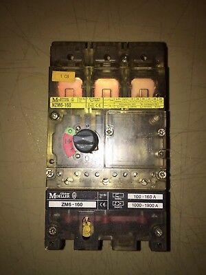 Moeller Zm6-160 Circuit Breaker