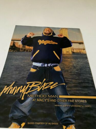 METHOD MAN FOR JOHNNY BLAZE APPAREL
