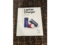 Zolt Laptop Phone Charger Power Adapter Violet w Violet Acc Used No Box