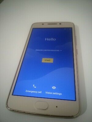 MOTOROLA G5 UNLOCKED DUAL SIM GOLD 4G MOBILE PHONE SMARTPHONE 16GB XT1676