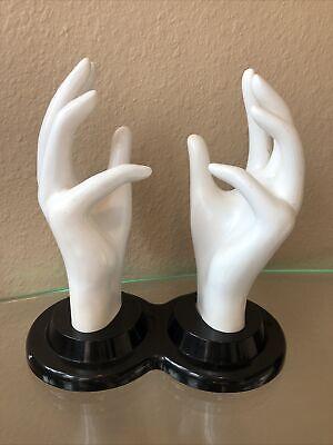 Mannequin Hands Jewelry Store Display Halloween Prop Ring E&B Giftware Vintage