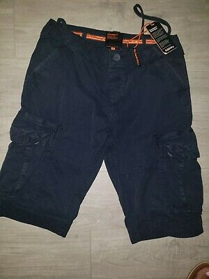 Men's Core Cargo Lite Shorts by Superdry. Size 28 - Regular