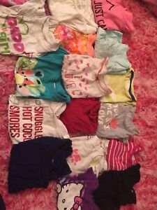 Clothing for 18 months to 2T girls, tops