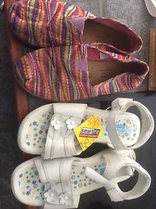 Girls shoes, size 3 and 3.5