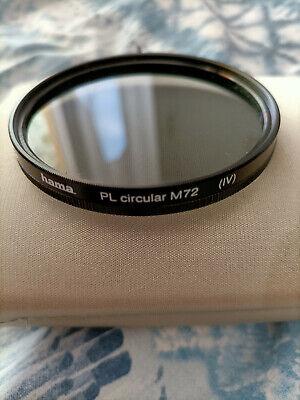 Filtro polarizzatore circolare 72mm Hama