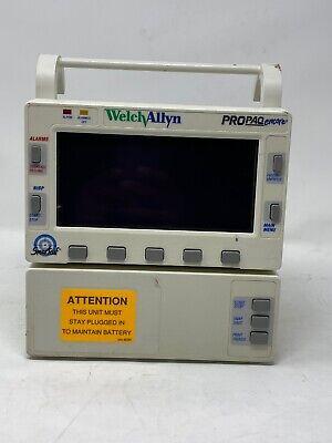 Welch Allyn Propaq Encore 202el Monitor No Power Cord - Usaf Rated W Printer