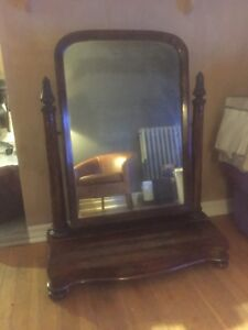 Antique Shaving Mirror REDUCED TO SELL