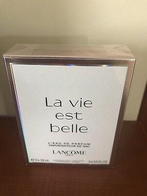 LANCOME La Vie est Belle Gift Set 3 X0.6oz (Belle Gift Set)