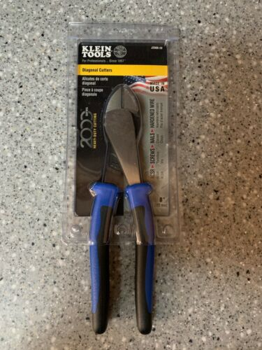 "KLEIN TOOLS 8"" HEAVY DUTY DIAGONAL-CUTTING PLIERS NEW SEALED"