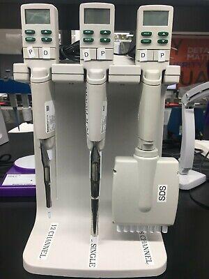 Electric Rainin Micropipette Set Used Singlemulti-channel 20ul100ul1200ul