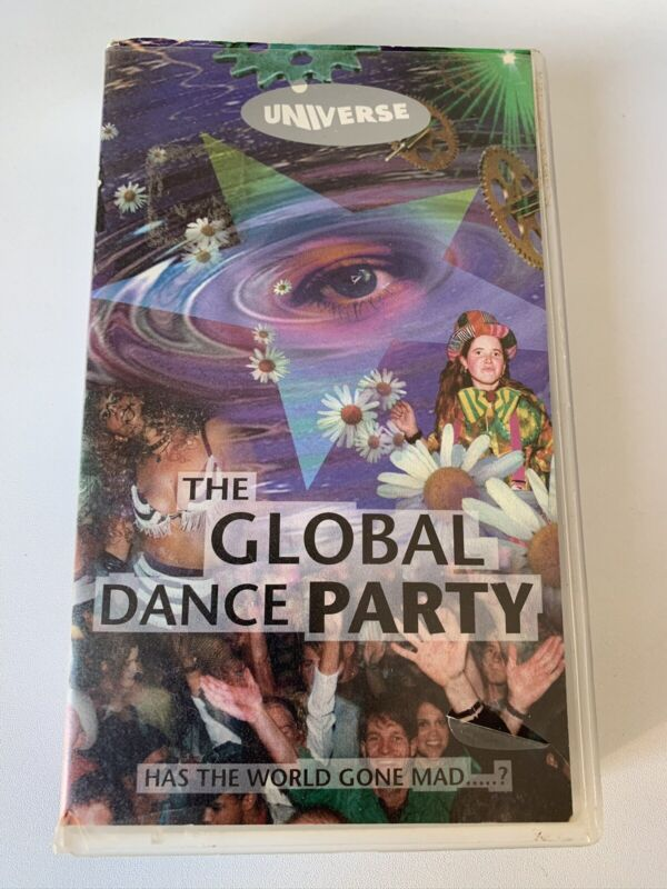 Universe The Global Dance Party Rave VHS 1993