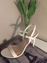 Cute White High Heels - Forever New size 7 Bolwarra Heights Maitland Area Preview