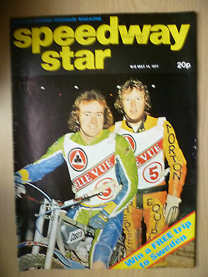 VINTAGE SPEEDWAY STAR MAGAZINE, Vol. 26, No. 07, 14 MAY 1977