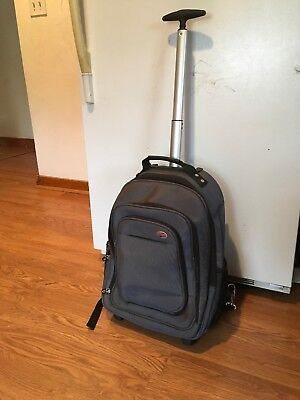 American Tourister Carry-On/ Backpack With  Wheels & Handle . ()