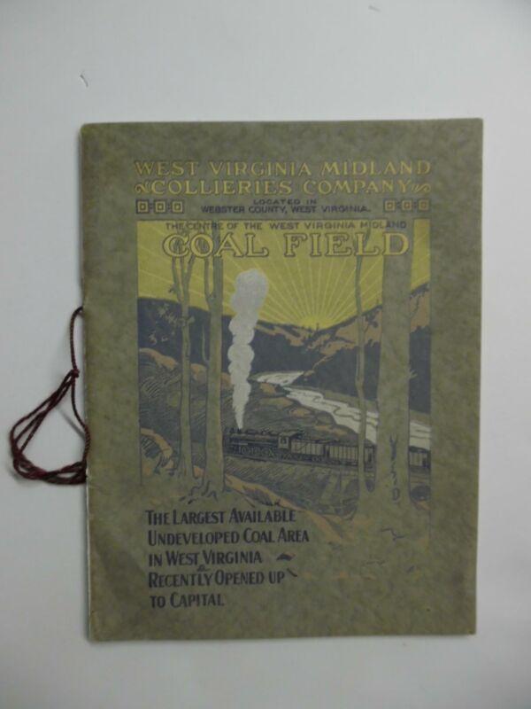 c.1915 West Virginia Midland Collieries Co. Coal Mining Investment Prospectus
