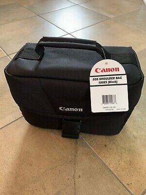 New Canon EOS Shoulder Bag 100ES (Black) 9320A023AB Case For SLR Camera