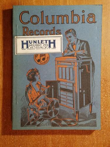 1921 Columbia Records Catalog