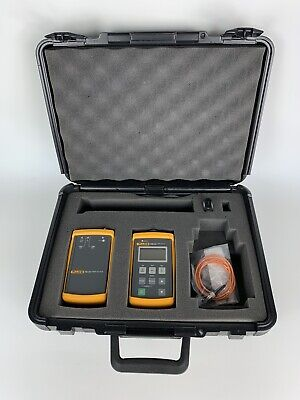 Fluke Ftk200 Optical Fiber Test Kit W Fm150 And Fs150