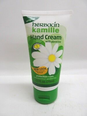 Herbacin Kamile Hand Cream with glycerine 2.5 oz