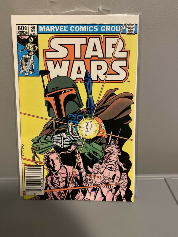 STAR WARS # 68 BOBA FETT ORIGIN MANDALORIAN , Marvel Comics Disney +