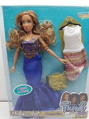 FRESH DOLLS JACQULLINE AFRICAN AMERICAN  DELUXE FASHION DOLL COLLECTION DESIGNER