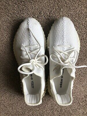 Adidas yeezy 350 Boost Men's white size UK 8.5