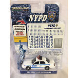 Greenlight 1/64 NYPD New York City Police Ford Crown Victoria  w/ Unit # Decals