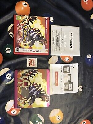 Pokémon Omega Ruby Limited Edition Game with Steelbook Case (Nintendo 3DS)