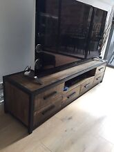 Industrial TV Bench (Great storage and high quality finish) Glebe Inner Sydney Preview