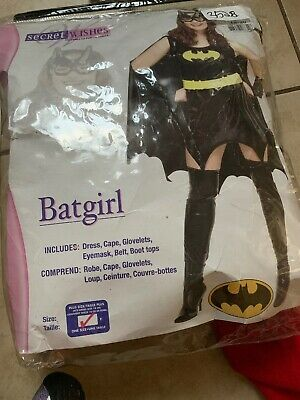 Batman Batgirl Costume for Women, Plus Size, Includes - Batgirl Kostüme Plus