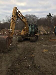 312 Cat excavator