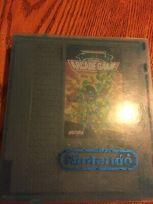 NES Teenage Mutant Ninja Turtles 2 The Arcade Game.Clamshell Included!!!!!!
