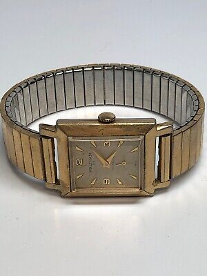 Vintage Waltham Wind Up Watch Gold Tone WORKING