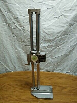 Mitutoyo .001-18 Analog Height Gauge Model 192-112