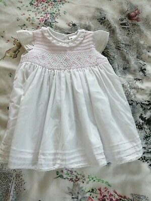 Sarah Louise Designer Baby Girls Short Sleeved Dress Age 6 Months