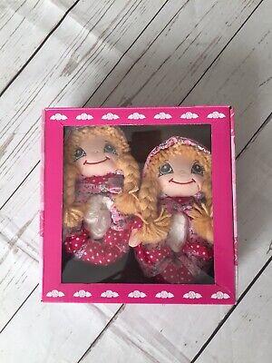 NIB Girls Lelli Kelli Blonde Rag Dolly Slippers size UK 7-8 Eur 24/25
