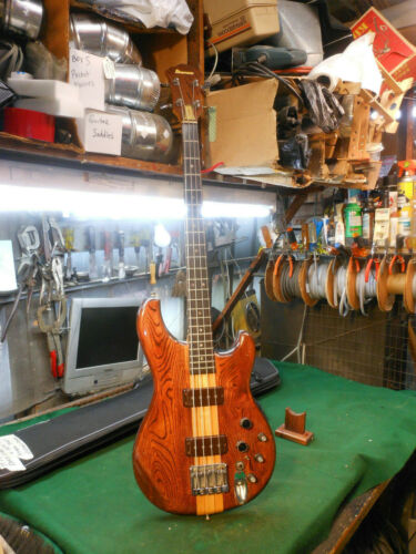 Vintage 1979 Ibanez Musician MC-940 EQ Bass Guitar & Neck-Thru - Made in Japan
