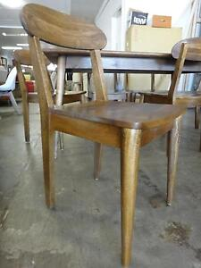 NEW RETRO DINING CHAIR - SOLID MANGO WOOD - DANISH DESIGN Richmond Yarra Area Preview