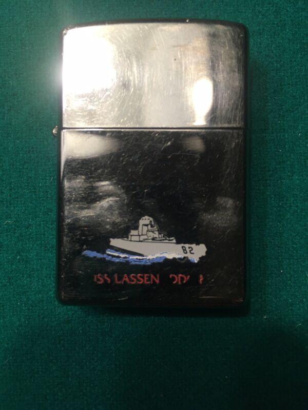 Zippo Vintage Lighter USS Lassen