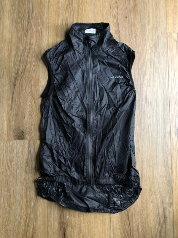 Cadence Collection Diablo Wind Vest : size Small: cycling
