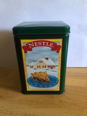 Vintage Nestle Toll House Party Mix Cookies Green Tin Limited Edition